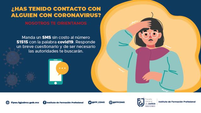 ¿Has tenido contacto con alguien con coronavirus?