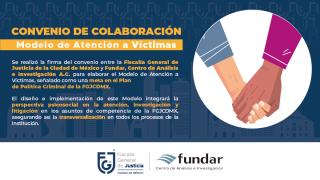 Humanizar la procuración de justicia, finalidad del convenio con Fundar: Ernestina Godoy