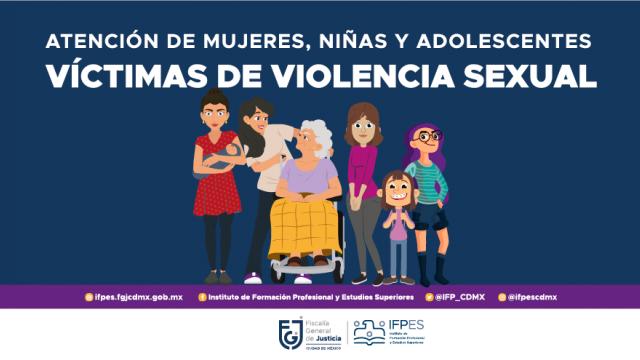 Atención a mujeres, niñas y adolescentes víctimas de violencia sexual