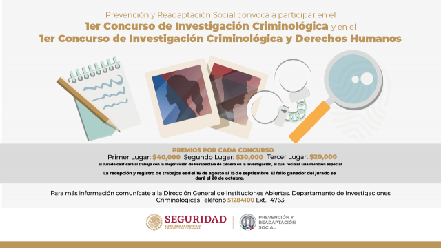 Concurso de Investigación Criminológica y Derechos Humanos
