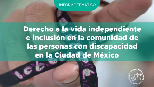 Derecho a la vida independiente e inclusión en la comunidad de las PcD