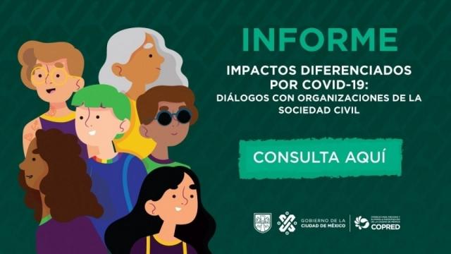 """Informe """"Impactos  direfenciados por el Coivid-19"""""""