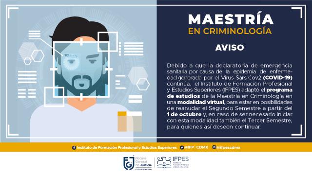 Maestría en Criminología