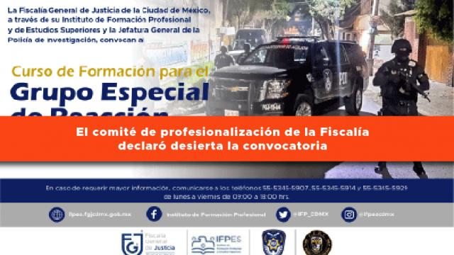 Curso de Formación para el Grupo Especial de Reacción e Intervención