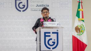 Primer Informe de Labores de la Fiscal General de Justicia de la Ciudad de México, Ernestina Godoy Ramos